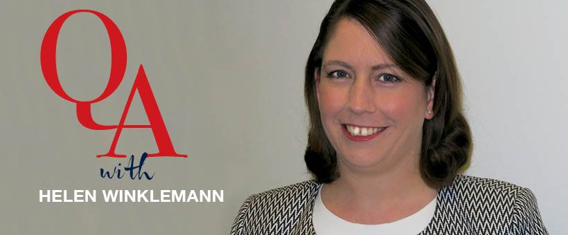 Q&A with new Professional Services Director, Helen Winklemann