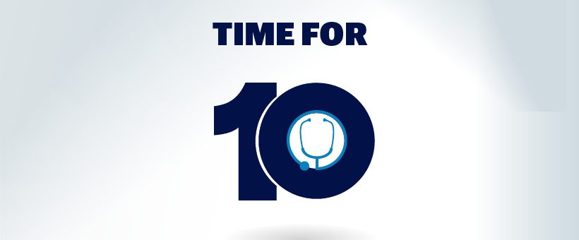It's time for 10%