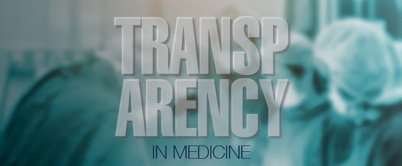 Transparency in Medicine