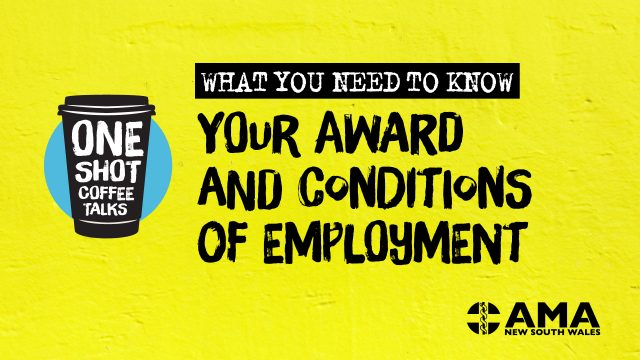 Your award and conditions of employment